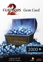 Guild Wars 2 Gem Card - 2000 кристаллов
