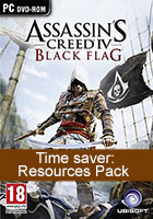 Assassin's Creed 4 Black Flag - Time saver: Resources Pack
