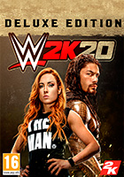 WWE 2K20 Deluxe Edition cover