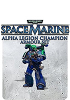 Warhammer 40,000: Space Marine - Alpha Legion Champion Armour Set